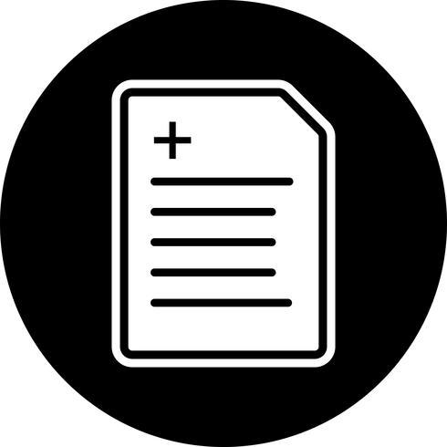 Berichts-Icon-Design vektor