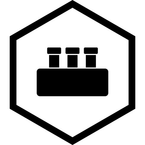 Chemie Set Icon Design vektor