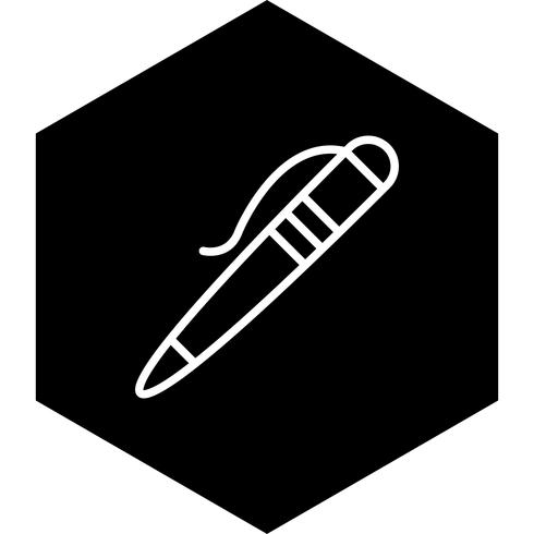 Stift-Icon-Design vektor