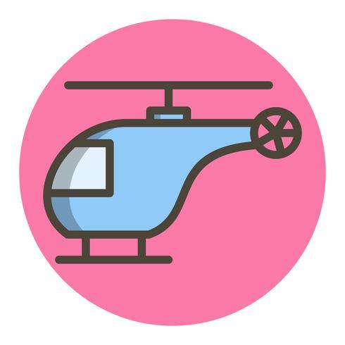 Hubschrauber-Icon-Design vektor