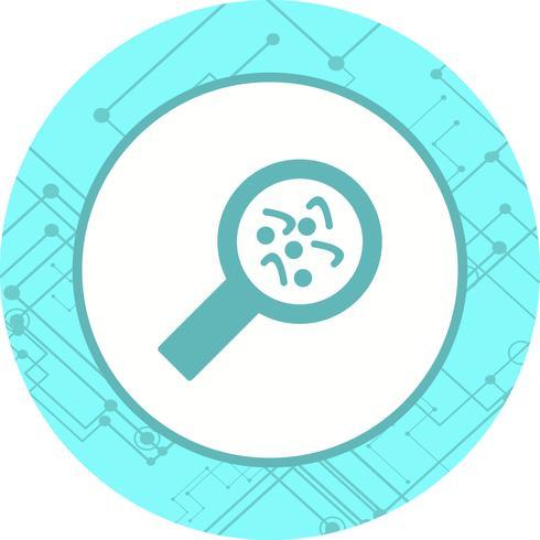 Bakterien Icon Design vektor