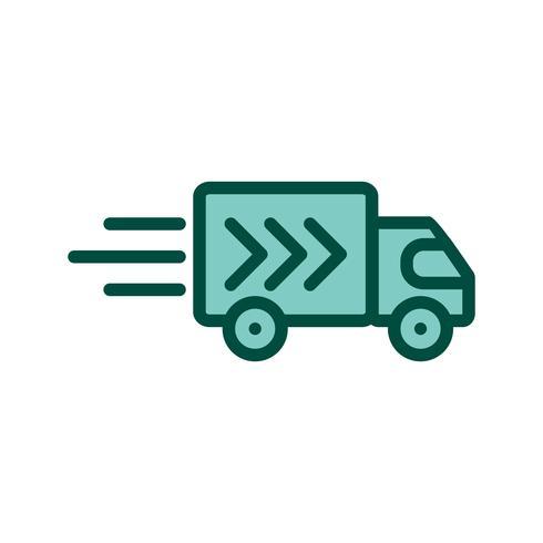 Lieferwagen-Icon-Design vektor