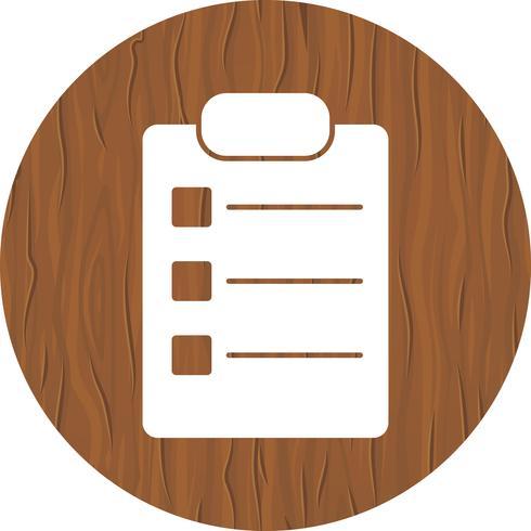 Lista Icon Design vektor