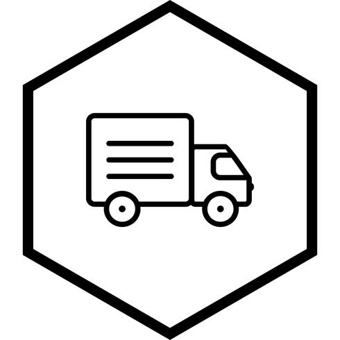 LKW-Icon-Design vektor
