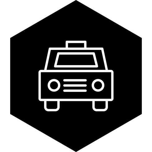 Taxi-Icon-Design vektor