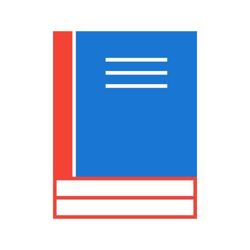 Böcker Icon Design vektor
