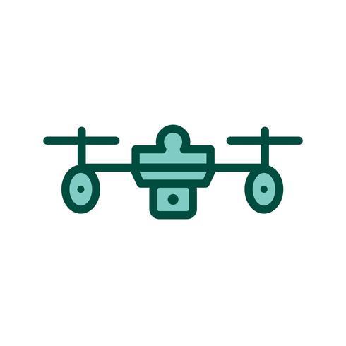 Drohne Icon Design vektor