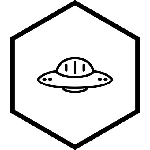 ufo ikon design vektor