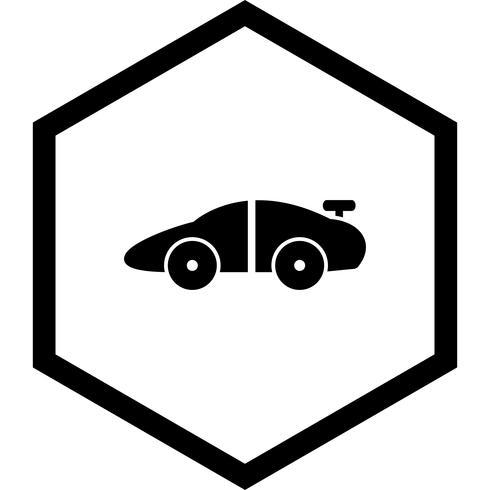 Sportwagen-Icon-Design vektor