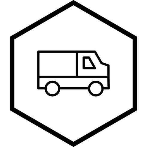 Van Icon Design vektor