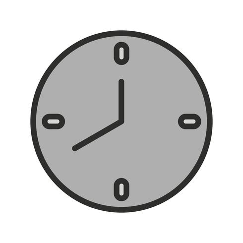 Uhr-Icon-Design vektor