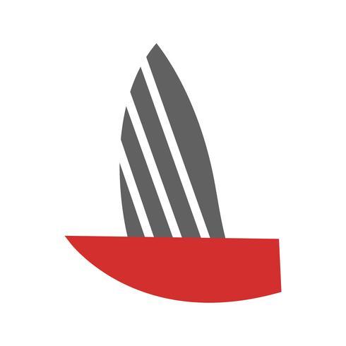 yacht icon design vektor