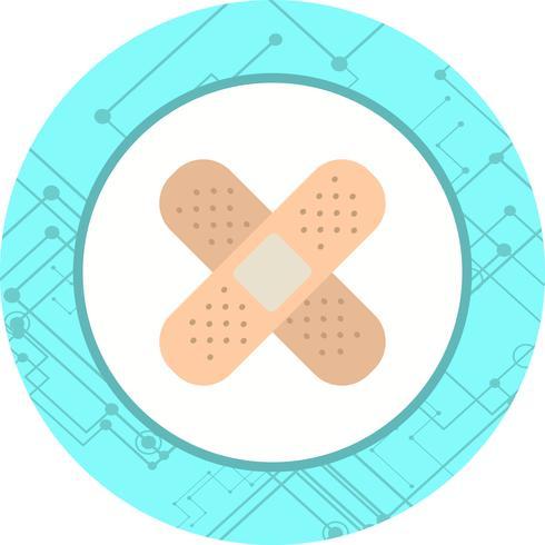 Bandhjälp Ikondesign vektor