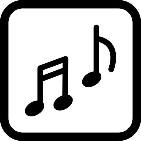 Musik Ikon Design vektor
