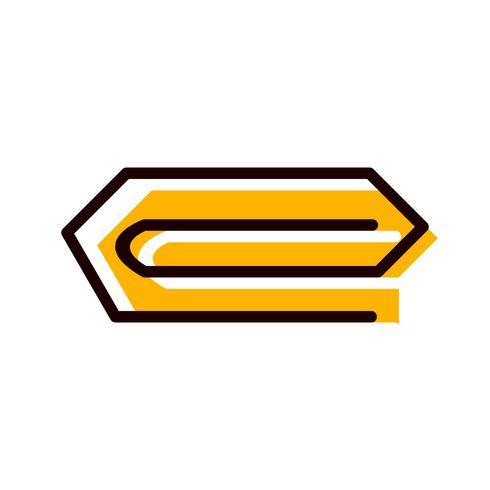 Pin-Symbol Design vektor