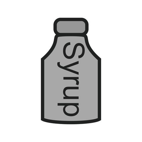 Syrup Icon Design vektor