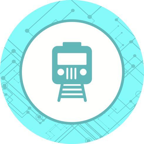 tåg ikon design vektor