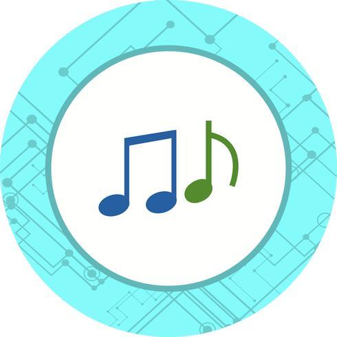 Musik-Icon-Design vektor