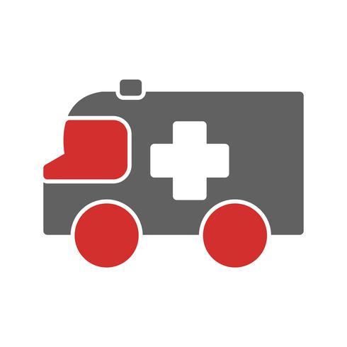 Ambulans Icon Design vektor