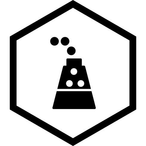 experiment ikon design vektor