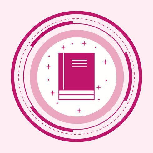 Bücher Icon Design vektor