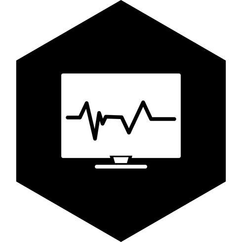 Puls-Icon-Design vektor