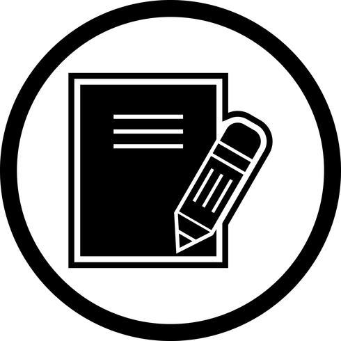 anteckningar ikon design vektor