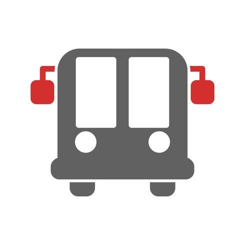 Flygbuss Icon Icon Design vektor
