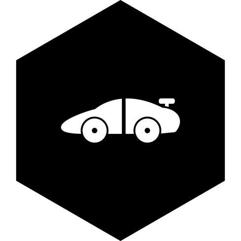 Sportbil Icon Design vektor