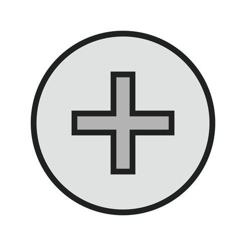 medicinsk teckensymbol design vektor