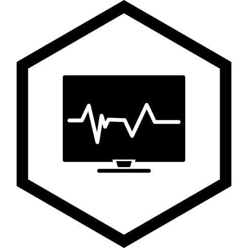 puls ikon design vektor