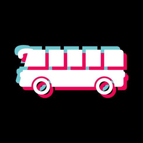 buss ikon design vektor