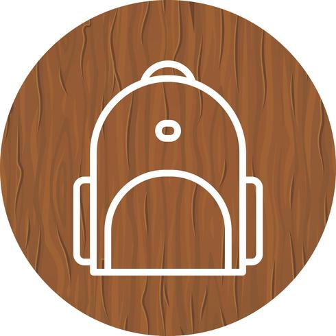 Bagpack-Icon-Design vektor