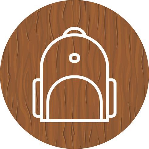 bagpack ikon design vektor
