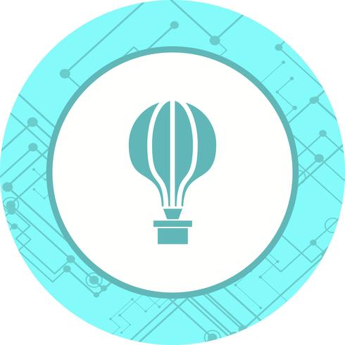Air Balloon Icon Design vektor
