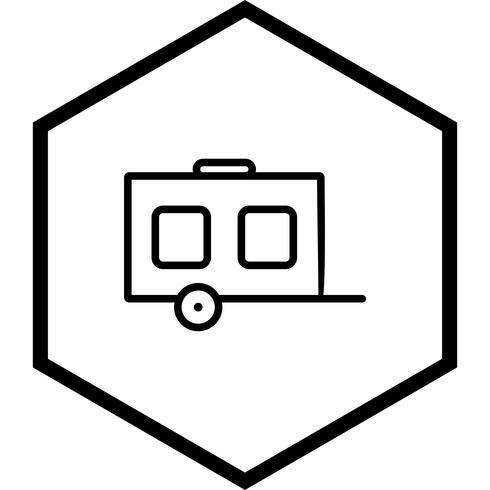 Wagen-Icon-Design vektor