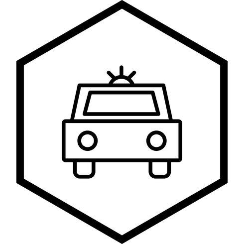 Polisbil Icon Design vektor