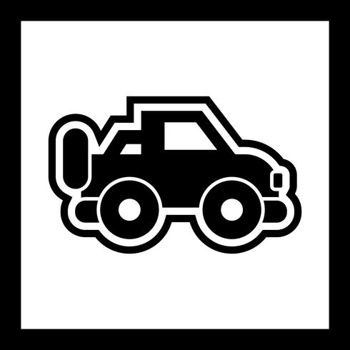 Jeep-Icon-Design vektor