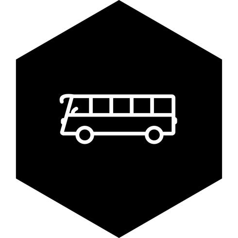 Bus-Icon-Design vektor