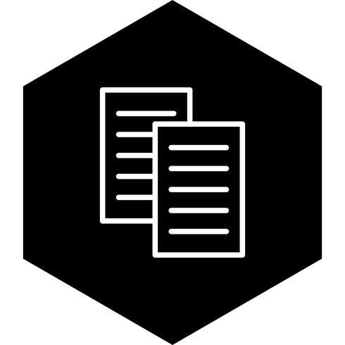 Filer Icon Design vektor