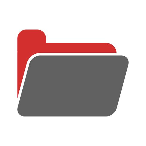 Ordner Icon Design vektor