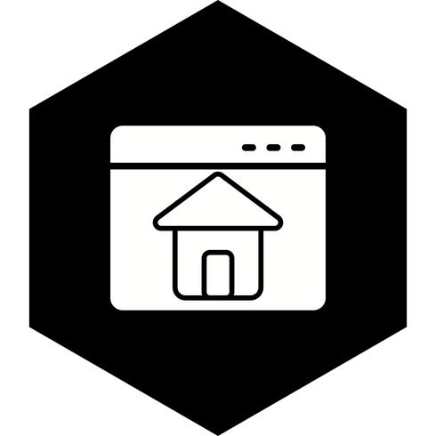 Hemsida Ikon Design vektor