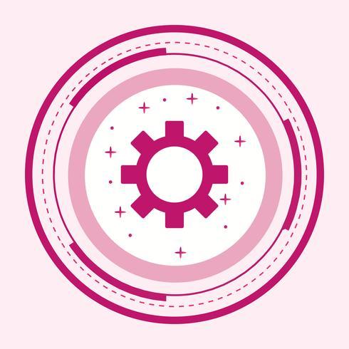 Einstellungen Icon Design vektor
