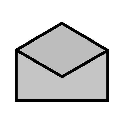 Kuvert Icon Design vektor