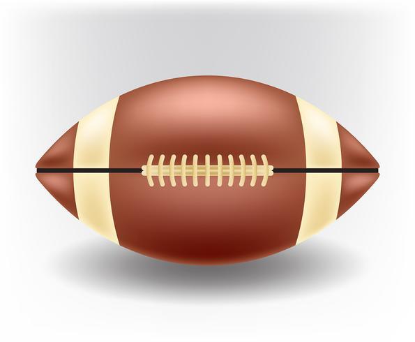Realistisk fotboll vektor