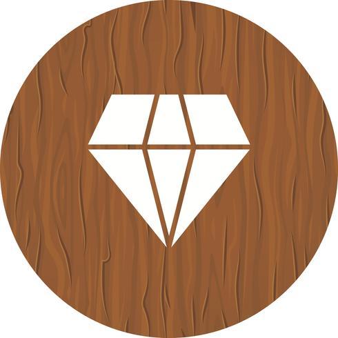 diamant ikon design vektor