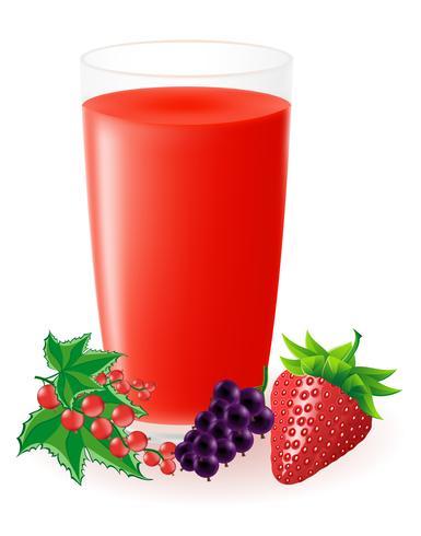 bär juice juice illustration vektor