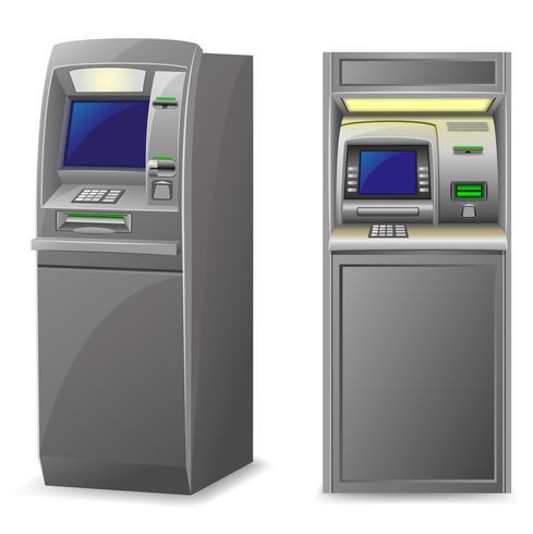 ATM-Vektorillustration vektor