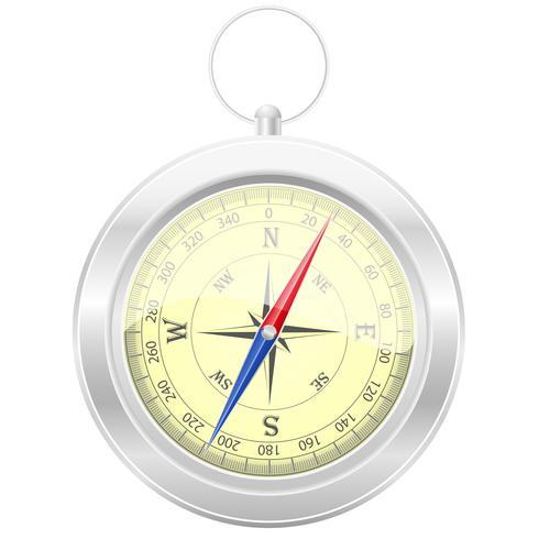 kompass vektor illustration