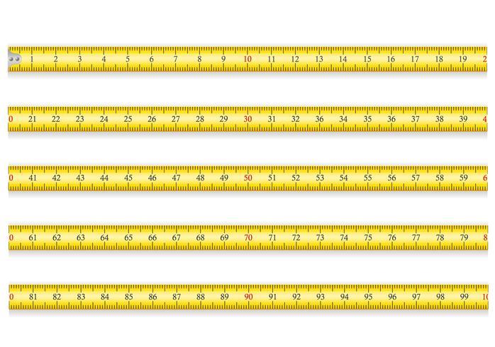 Maßband für Werkzeug-Roulette-Vektorillustration ENV 10 vektor
